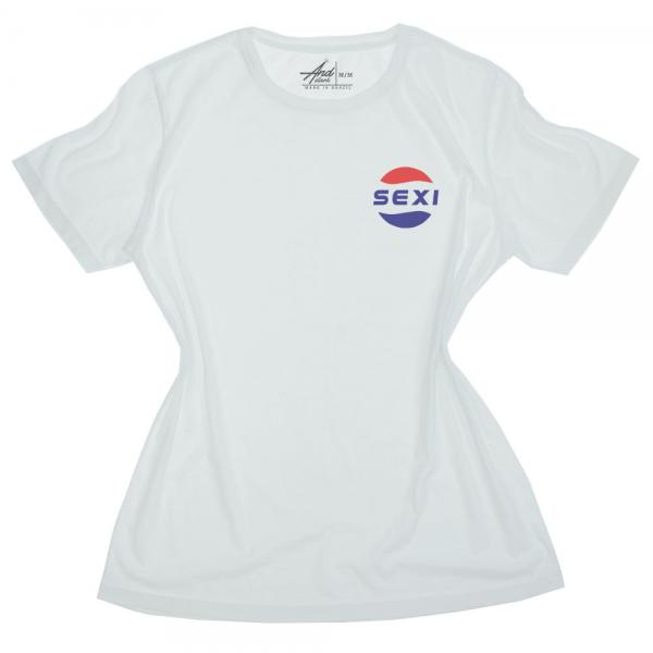 camiseta branca sexi