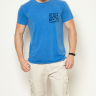 camiseta bike azul