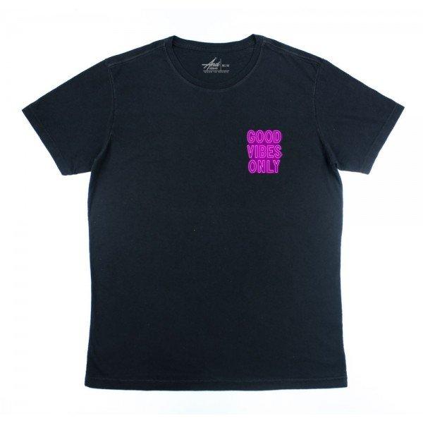 camiseta good vibes preta