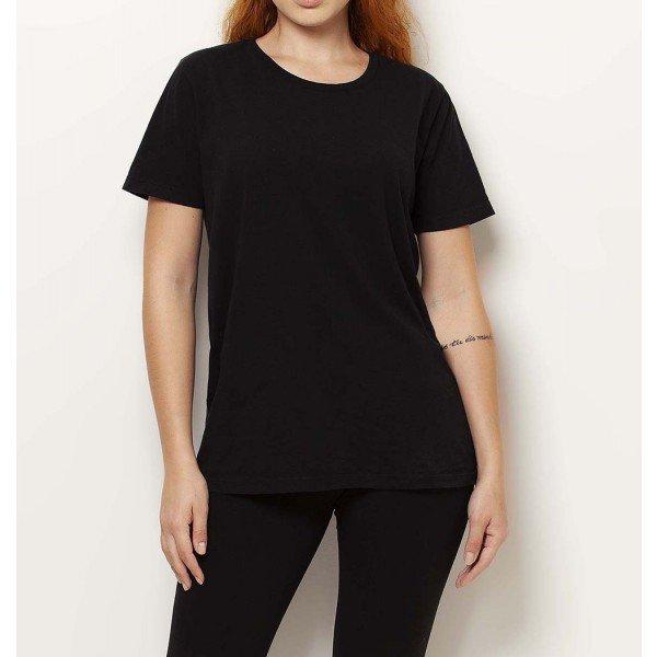 camiseta preta basica