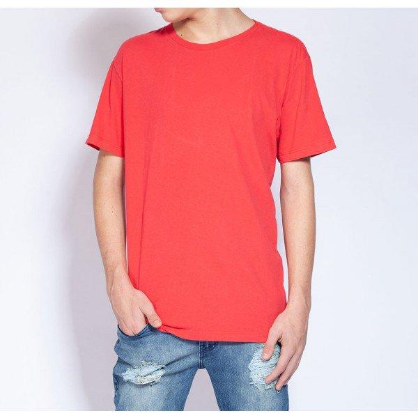 camiseta vermelha frente