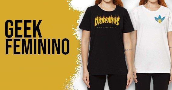 Encontre o que procurava: Camisetas Geek Femininas