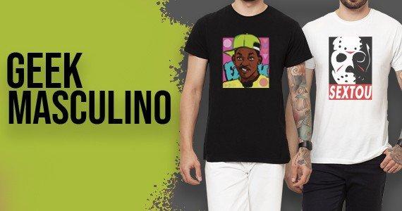 Encontre o que procurava: Camisetas Geek Masculinas