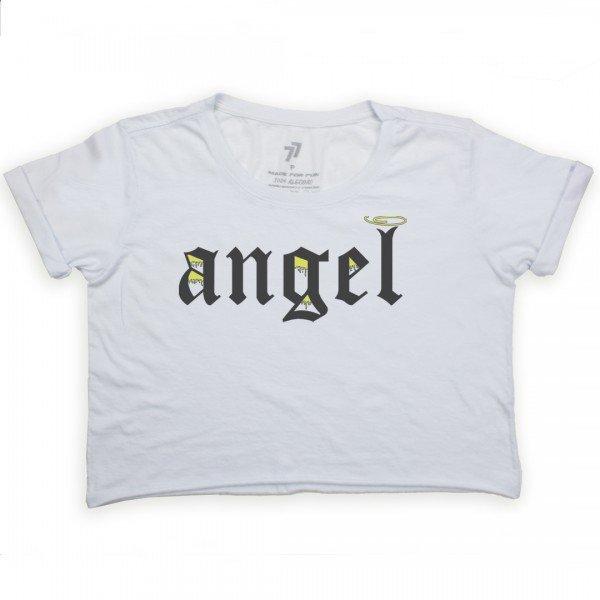 cropped angel escrita